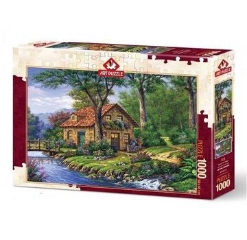 Art Puzzle Along the Peace Puzzel 1000 Stukjes