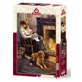 Art Puzzle Nostalgia Bedtime Story Puzzel 1000 Stukjes