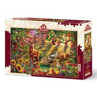 Art Puzzle Magic Forest Puzzel 1000 Stukjes