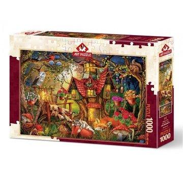 Art Puzzle Sleepytime 1000 Pièces Puzzle