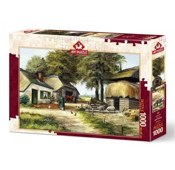 Art Puzzle Homestead 1000 Puzzle Pieces