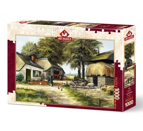 Art Puzzle Homestead Puzzel 1000 Stukjes