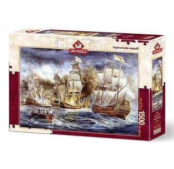 Art Puzzle Battleship War Puzzel 1500 Stukjes