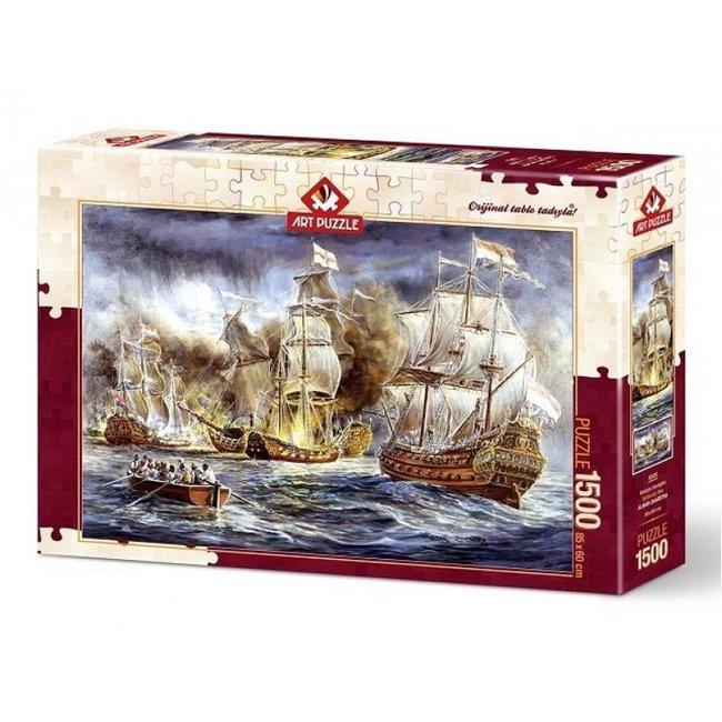 Battleship War Puzzel 1500 Stukjes