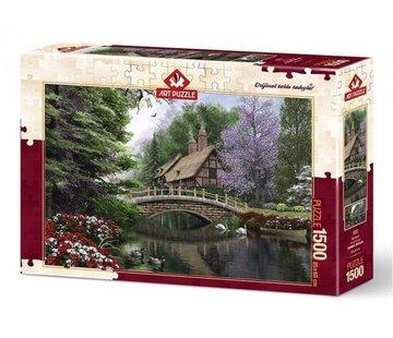 Art Puzzle Stone Bridge Puzzel 1500 Stukjes