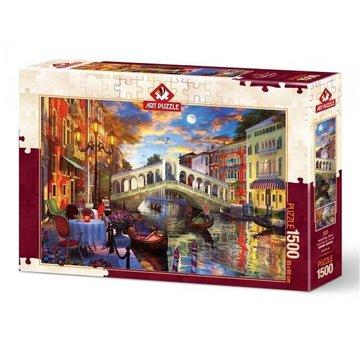 Art Puzzle Rialto Bridge Venice Puzzel 1500 Stukjes