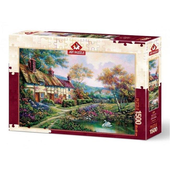 Art Puzzle 1500 Spring Garden Puzzle Pieces