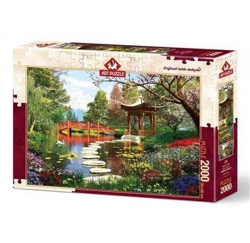 Art Puzzle Spring Season Puzzel 2000 Stukjes