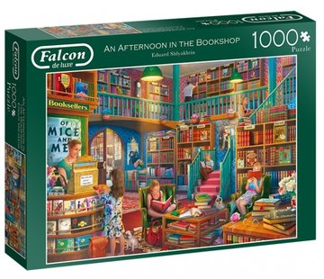 Falcon An Afternoon in the Bookshop Puzzel 1000 Stukjes