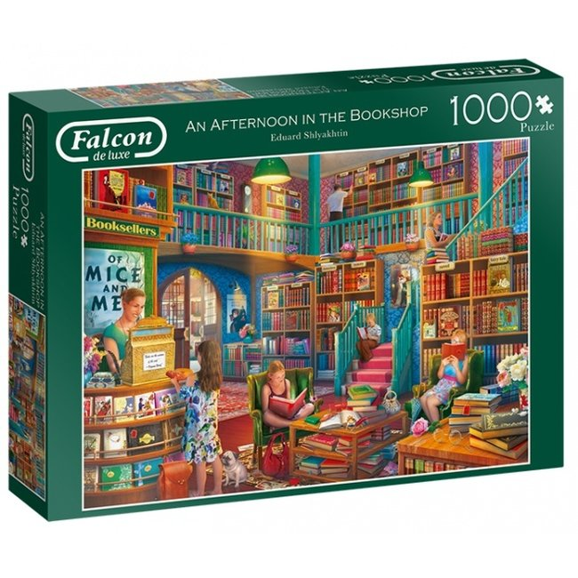 An Afternoon in the Bookshop Puzzel 1000 Stukjes