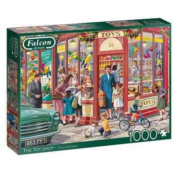 Falcon The Toy Shop Puzzel 1000 Stukjes