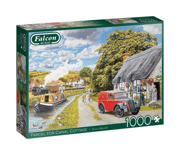 Falcon Parcelle pour Canal Cottage 1000 Puzzle Pieces