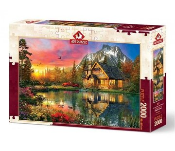 Art Puzzle Four Seasons Puzzel 2000 Stukjes