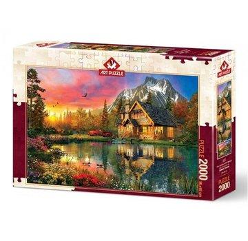 Art Puzzle Four Seasons Puzzle 2000 Pièces