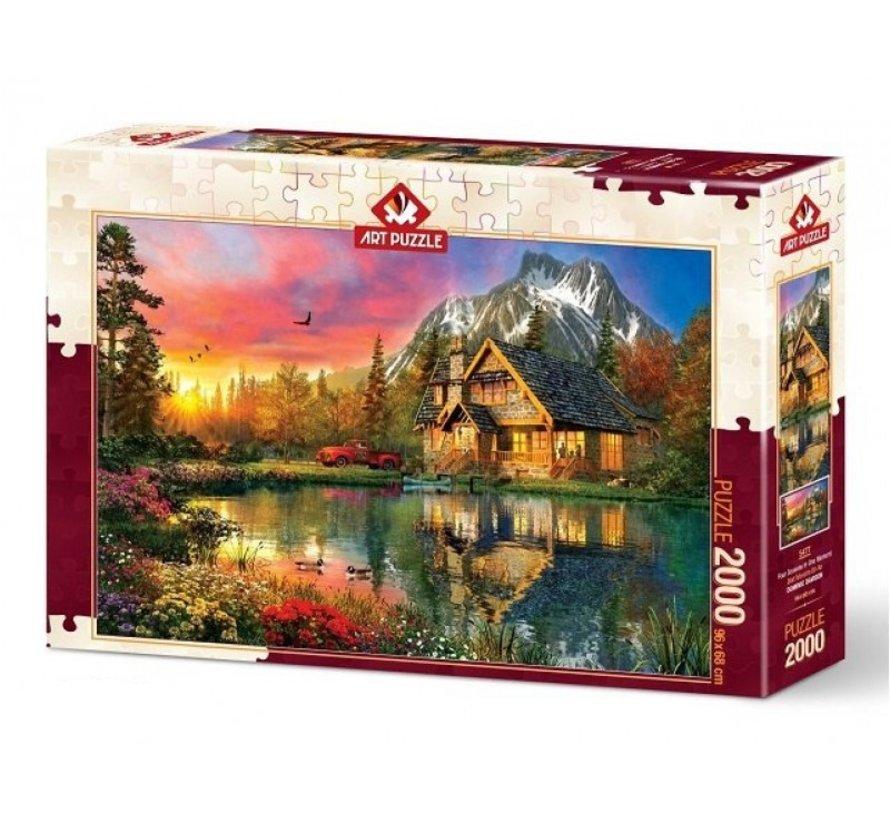 Four Seasons Puzzel 2000 Stukjes