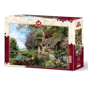 Art Puzzle Countryside Puzzel 3000 Stukjes