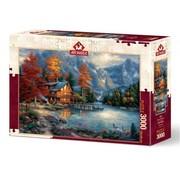 Art Puzzle Autumn Reflection Puzzle 3000 Pieces