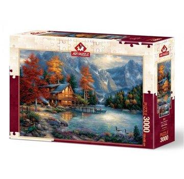 Art Puzzle Autumn Reflection Puzzel 3000 Stukjes