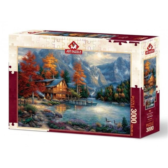 Autumn Reflection Puzzel 3000 Stukjes