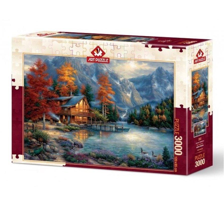 Autumn Reflection Puzzle 3000 Pieces