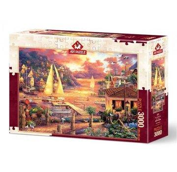 Art Puzzle Les Golden Sea Puzzle 3000 Pièces