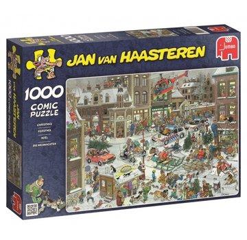 Jumbo Jan van Haasteren - Christmas 1000 Puzzle Pieces