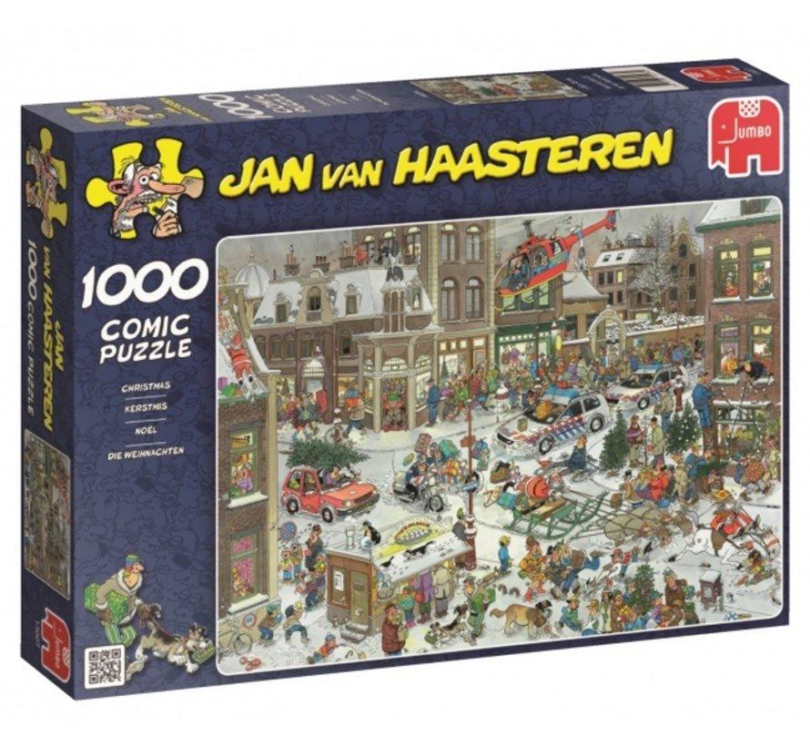 Jan van Haasteren – Kerstmis Puzzel 1000 Stukjes
