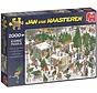 Jan van Haasteren – De Kerstbomenmarkt Puzzel 2000 Stukjes