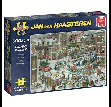 Jumbo Jan van Haasteren - Christmas Puzzle Pieces XL 500