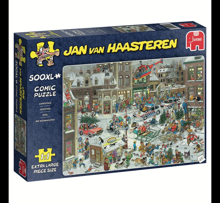 Jan van Haasteren – Kerstmis Puzzel 500 XL Stukjes