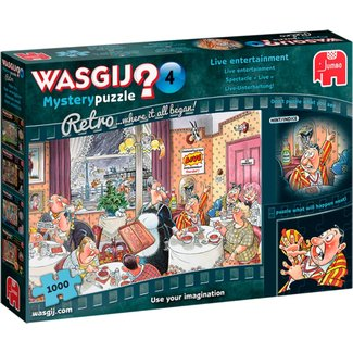 Jumbo Wasgij Mystery 4 Live Entertainment Puzzle 1000 pieces