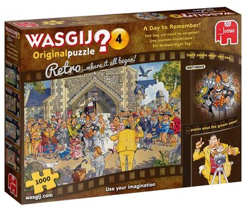 Jumbo Wasgij 4 Retro A Day to Remember Puzzle 1000 Pieces