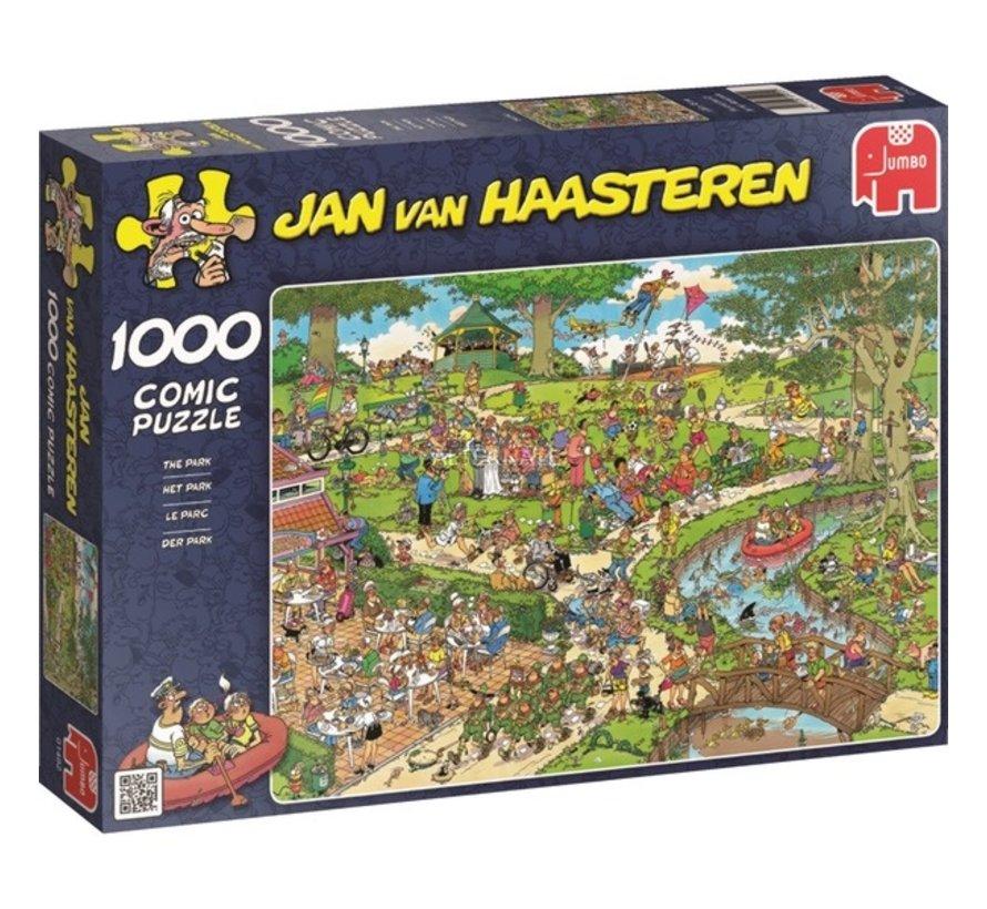Jan van Haasteren – Het Park Puzzel 1000 Stukjes