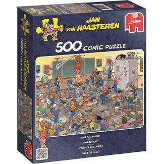 Jan van Haasteren Jan van Haasteren –Vang de Muis Puzzel 500 Stukjes