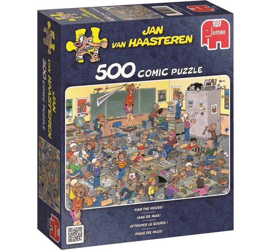 Jan van Haasteren –Vang de Muis Puzzel 500 Stukjes