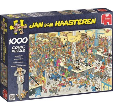 Jumbo Jan van Haasteren - Bargeld Engaging Puzzle 1000 Stück