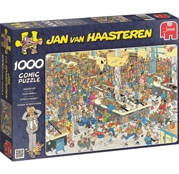 Jumbo Jan van Haasteren - Cash Engaging Puzzle 1000 Pieces