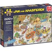 Jumbo Jan van Haasteren – Wild Water Rafting Puzzle 1500 Pieces