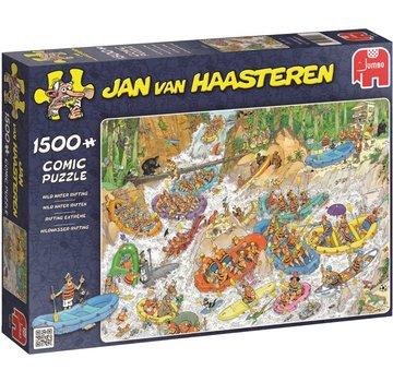 Jumbo Jan van Haasteren – Wild Water Raften Puzzel 1500 Stukjes