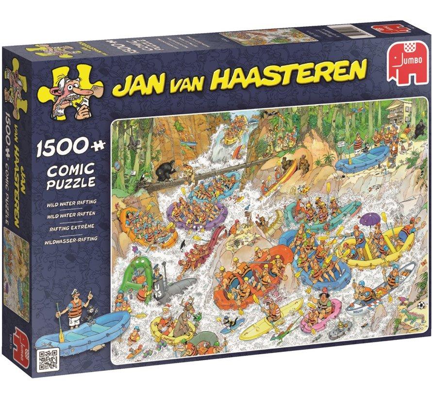 Jan van Haasteren – Wild Water Rafting Puzzle 1500 Pieces