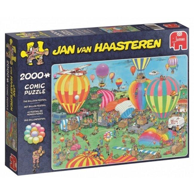 Jan van Haasteren Jan van Haasteren – Ballon Festival Puzzel 2000 Stukjes