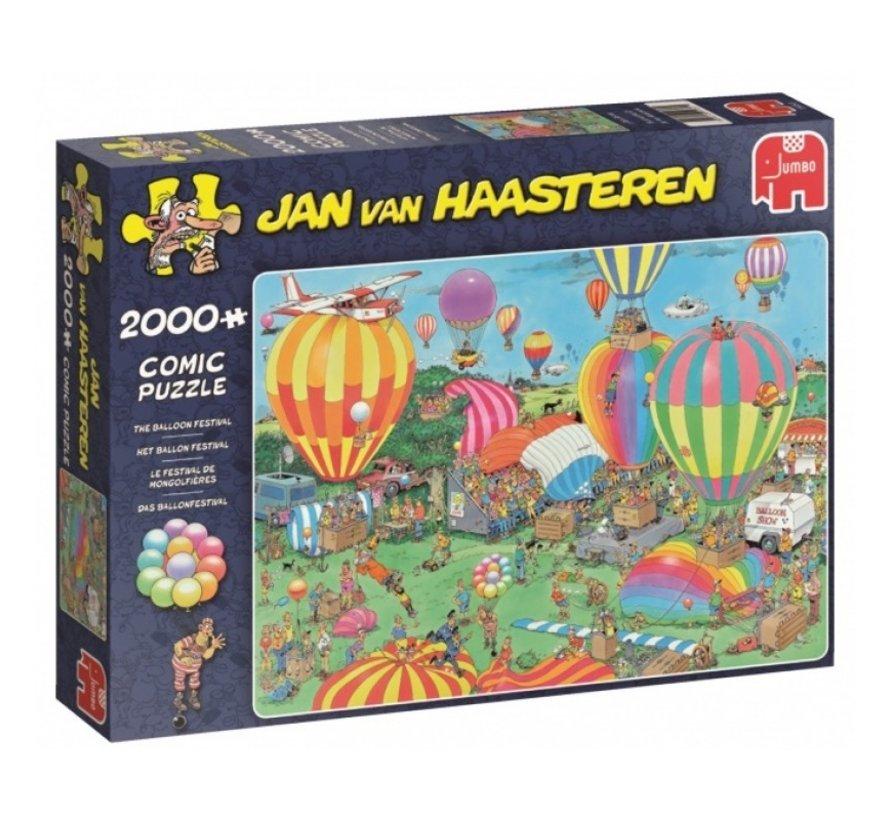 Jan van Haasteren – Ballon Festival Puzzel 2000 Stukjes