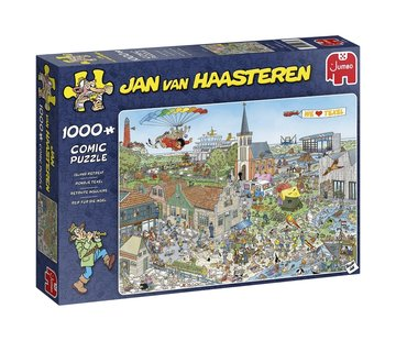 Jan van Haasteren Jan van Haasteren - Round Texel 1000 Puzzle Pieces