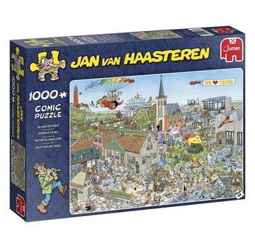 Jumbo Jan van Haasteren - Round Texel 1000 Puzzle Pieces
