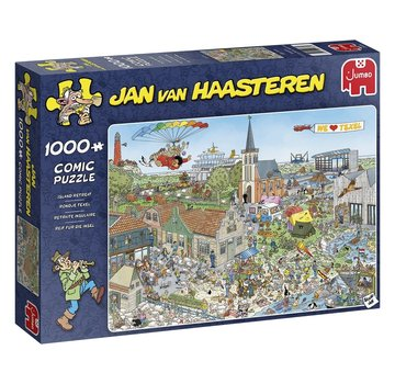 Jumbo Jan van Haasteren - Round Texel 1000 Puzzleteile