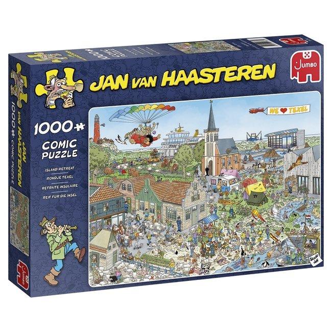 Jan van Haasteren Jan van Haasteren - Ronda Texel 1000 pedazos del rompecabezas