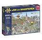 Jan van Haasteren – Rondje Texel Puzzel 1000 Stukjes