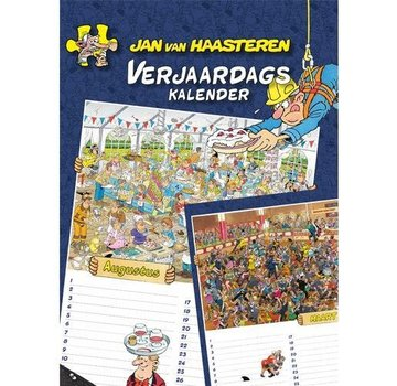 Comello Jan van Haasteren Birthday Calendar - Copy