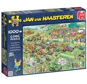 Jumbo Jan van Haasteren – Grasmaaierrace Puzzel 1000 Stukjes