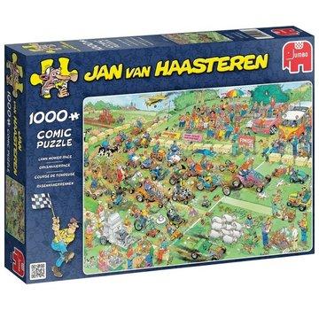 Jan van Haasteren Jan van Haasteren – Grasmaaierrace Puzzel 1000 Stukjes
